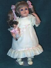 Maggie - Handcrafted Porcelain Doll ~ #3 Out Of 10 Made