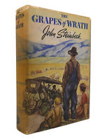John Steinbeck THE GRAPES OF WRATH 1st Edition 1st Printing