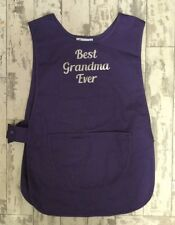PERSONALISED APRON WITH FROUT POCKET -BEST GRANMA EVER