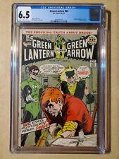 Green lantern 85 cgc 6.5 (1971) Classic anti-drug issue - Speedy is a junkie!