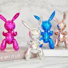 Jhon Kozak Silver Rabbit Cute Animals Resin Sculpture Wedding Decor Balloon 25CM