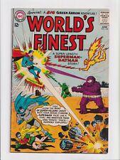 World's Finest #134 Batman and Superman Silver Age DC Comics 1963