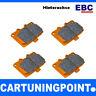 EBC Brake Pads Rear Orange Fabric for Volvo V70 (2) DP91140