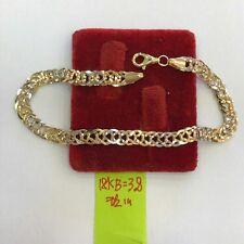 Gold Authentic 18k saudi gold bracelet,,d