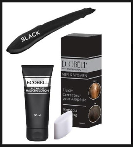 Ecobell Hairloss & Scalp Concealing Cream Lotion 50ml BLACK