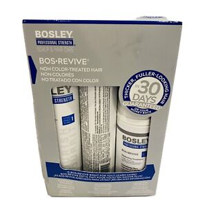 New Bosley Bos Revive Kit for Visibly Thinning Non Color-Treated Hair Balding