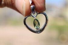Moldavite Meteorite Jewelry Meteorite pendant 020