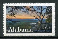 USA 2019 MNH Alabama 1819 1v S/A Set Trees Nature Tourism Landscapes Stamps