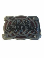Led Zeppelin Rock Band Logo Metal Enamel BELT BUCKLE