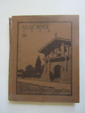 Rare 1909 San Francisco Architectural Club Year Book Drawings Photos 100s Ads