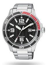 Citizen Marine Eco-Drive Orologio Uomo nuovo AW1520-51E quadrante Pepsi Pilot