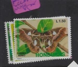 Honduras Butterfly SC C809-11 MNH (4eyx)