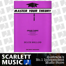 Master Your Theory - Grade 3 / Three Revised Edition - Dulcie Holland *NEW*
