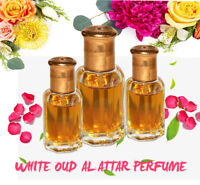 White Oud Al Attar Ittar 100% Pure concentrated Perfume Oil From India