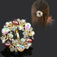 Hairpin Clip Women Barrette Accessories Hair Clips Crystal Girls Women New