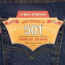 Levis 501 Jeans Original  New Mens Size 34 x 30 PURPLE RAIN STRETCH Levi's NWT
