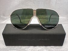 Original PORSCHE DESIGN Sonnenbrille P´8480 Farbe A gold Faltbrille