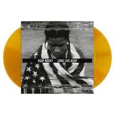 A$AP ROCKY LONG.LIVE.A$AP 2X LP  ORANGE VINYL  NEW SEALED MINT