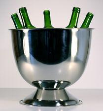 Vasque à champagne Auréole en inox pour 5 à 6 bouteilles