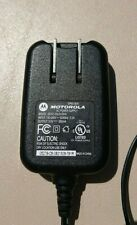 MOTOROLA AC POWER SUPPLY SPN5185A DCH3-05US-0300 Mini USB Phone Charger
