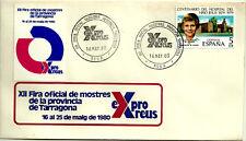 SOBRE PRIMER DÍA. XII FIRA DE MOSTRES DE LA PROVINCIA DE TARRAGONA. 1980