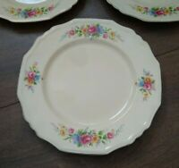 Vintage 1940s/1950s Alfred Meakin Dinner Plates Floral Ripon VGC