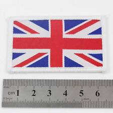 UNION JACK IRON ON 6.5cm x 4cm UNITED KINGDOM UK NATIONAL FLAG PATCH BADGE 085