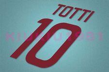 AS Roma Totti #10 2011-2012 Awaykit Nameset Printing