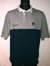 POLO SHIRT RUGBY ANGLIA ENGLAND 2XL COTTON TRADERS RED ROSE UNION XXL