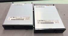 LOT OF 2 NEC FD1231M  FLOPPY DISC DRIVE 134-506790-603-4 5502184