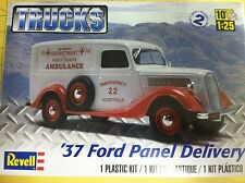 Revell '37 Ford Panel Delivery Truck 1/25th Scale Kit 85-4930