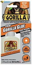 Gorilla 4500104 Clear Glue 175 Oz Non-Foaming Adhesive Strong Crystal Clear New