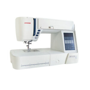 Janome Skyline S6 Computerised Sewing Machine AcuFeed Walking Foot for quilting
