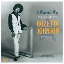 ROZETTA JOHNSON A Woman's Way-Complete 1963-75 NEW SEALED SOUTHERN SOUL CD (KENT