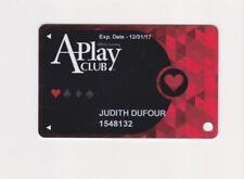 Players Slot Club Rewards Card A-Play Club HEART affinity Gaming many casinos
