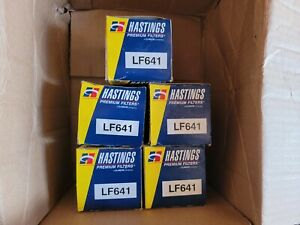 5 New Hastings LF641 Premium Oil Filters FREE SHIPPING