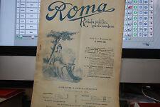 ROMA RIVISTA POLITICA PARLAMENTARE ANNO II FASCICOLO III 16 GENNAIO 1898