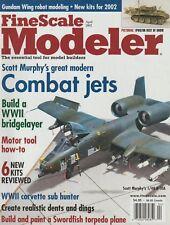 FineScale Modeler (Apr 2002) WWII Bridgelayer, Fairey Swordfish, WWII USS Saucy