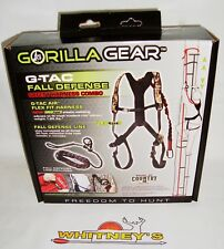 Gorilla Gear G-TAC Fall Defense Safety harness combo Break up country camo