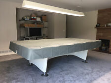 9 Foot Heavy Duty Fitted Pool Table Cover GRAY for BRUNSWICK GOLD CROWN II