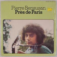PIERRE BENSUSAN: Près De Paris '78 Rounder Folk Rock Vinyl LP VG++