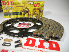 BMW F650 FUNDURO '96-00 DID GOLD X-RING CHAIN AND SPROCKETS KIT *OEM, Q.A or Fwy