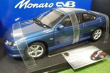 Holden V2 Monaro Cv8 Bleu Métal 1/18 Autoart 73489 Voiture Miniature Collection