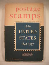 POSTAGE STAMPS OF THE UNITED STATES 1847 - 1957 SC