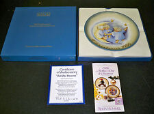 "Schmid ""Tell the Heavens"" Christmas 1986 Collector Plate! B Hummel Inspired!"