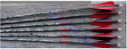 """MAXIMA HUNTER ARROWS 5"""" STRAIGHT FEATHER NOCKS INSERTS CARBON EXPRESS CUT FREE"""