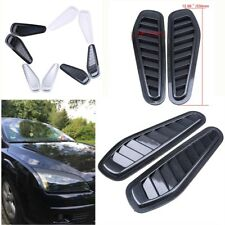 Car-styling Auto Decorative Air Flow Intake Scoop Turbo Bonnet Vent Cover Hood