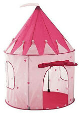 Play Tent Childs Pink Princess Castle Kids Play House Girl Fairy House New 3 &up