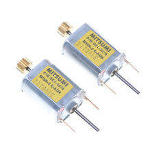 2Pcs DC Micro 030 Carbon Brush Motor Iron Cover For 12V 0.05A 13100RPM *