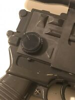 BLACK KNOB:3D Part VINTAGE STAR WARS HAN SOLO Laser Pistol DL-44 ANH, ESB & ROTJ